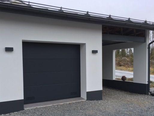Ryterna R40 nosto-ovi, sileä pintainen, väri RAL7016
